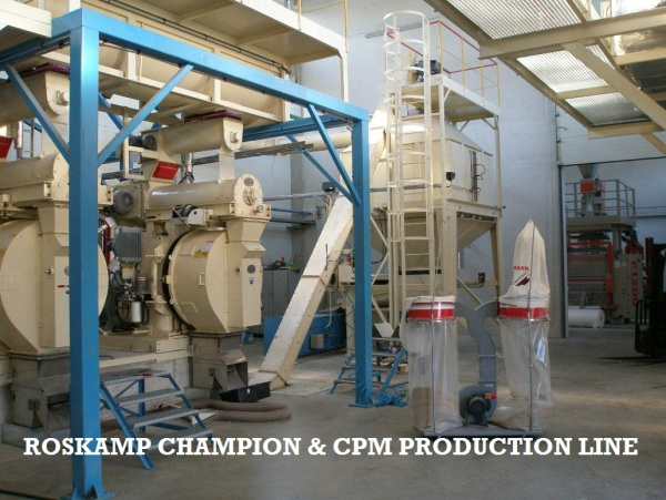 ROSKAMP CHAMPION & CPM PRODUCTION LINE