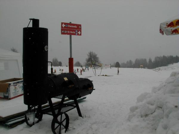 OKLAHOMA BBQ in the snow